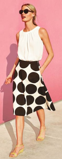 cute large dotted skirt http://rstyle.me/n/v8pdrr9te
