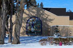Lourdes University - Dining Hall mural by Sr. Jane Mary Sorosiak!