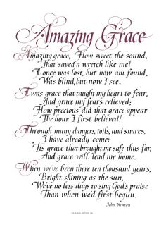 "'Amazing Grace' by John Newton ""How sweet the sound, That saved a wretch like me!"" John Newton, a gruff and bawdy slave trader, wrote this hymn after being transformed by the power of amazing grace. Christian Songs, Christian Quotes, Bible Quotes, Me Quotes, Soli Deo Gloria, Gods Grace, Praise And Worship, Praise God Quotes, Worship Songs"