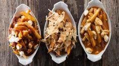 Signé M - TVA - Poutine et 3 sauces maison Sauce Poutine, Poutine Recipe, Sauce Recipes, Cooking Recipes, Canadian Food, Canadian Recipes, Good Food, Yummy Food, Foods With Gluten