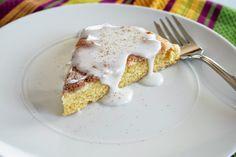 Lazy Gluten Free: Gluten Free Glazed Cinnamon Scones