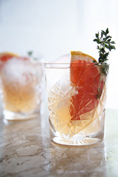 Gin & herbs