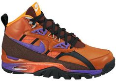 23380ce2551f7 NIKE AIR TRAINER SC MENS SZ 9 SNEAKERBOOT NWOB 684713 800 TUSCAN RUST  PURPLE Nike Air
