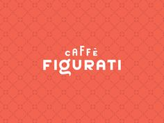 Caffe Figurati Logotype & Brand Pattern designed by Wells Collins. Connect with them on Dribbble; the global community for designers and creative professionals. Logo Inspiration, Creative Inspiration, Creative Portfolio, Unique Logo, Of Brand, Logo Branding, Logos, Pattern Design, Logo Design