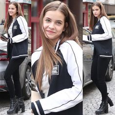 September 29: Barbara Palvin out and about in Paris. - - #palvinbarbara #barbarapalvin #realbarbarapalvin #barbellas #barbellos