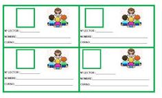 Resultado de imagen de carnet de biblioteca para niños Jolly Phonics, Lectures, Craft Work, Teacher, Classroom, How To Plan, Education, School, Google