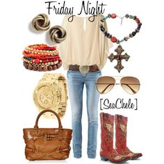 Friday Night, created by michele-cortes.polyvore.com
