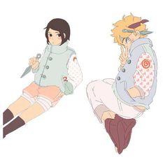 Boruto & Sarada   BoruSara   Naruto