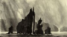 Royal Academician Norman Ackroyd is famous for his atmospheric monochrome etchings of the British landscape. Norman Ackroyd, North Yorkshire, Arts And Entertainment, Archipelago, British Isles, More Pictures, New Art, Monochrome, Ocean
