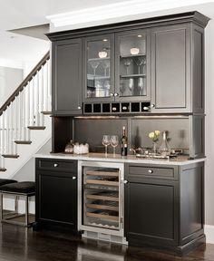 Traditional Basement Kitchen Design