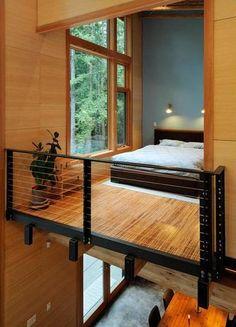 modern cabin feel    From google.com