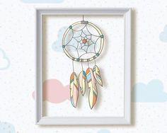 Nursery Decor baby shower gift Dreamcatcher Nursery Boho