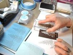 Dryer Sheet Reversed Stamping  Lovely as a Tree 3D