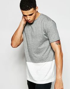 Antioch Longline T-Shirt With Panel