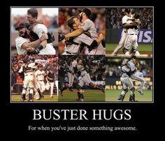 I WANT A BUSTER HUG!!!!!!!!!!!!!!!
