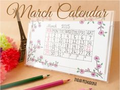 Primadona's Notes: March Calendar