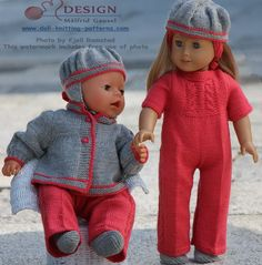 Een schattige geklede pop in dit setje denk ik!