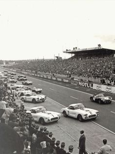 Start of the 1960 Le Mans