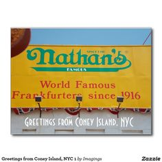 Greeting from coney island new york large letter postcard large greeting from coney island new york large letter postcard large letter postcards places ive been pinterest coney island large letters and m4hsunfo