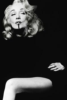 Marlene Dietrich for Witness for the Prosecution, 1957