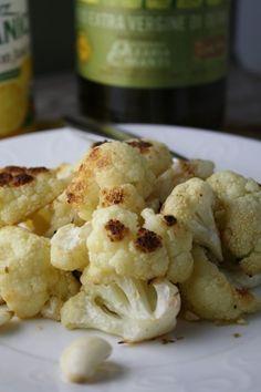 Coliflor con ajo, receta rica y muy sana - El Aderezo - Blog de Recetas de Cocina