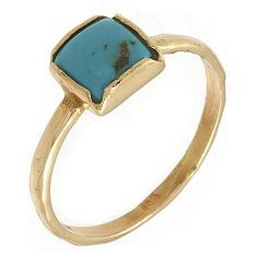 turquoise in rose gold