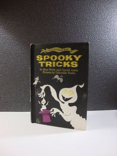 Spooky Tricks by Rose Wyler and Gerald Ames 1968 Vintage