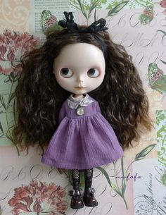 Mooji dress  Smell Lavender  for Blythe