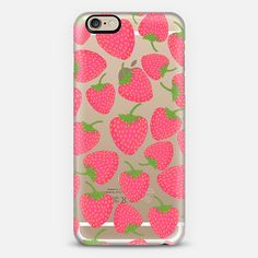 Strawberry Sweet (transparent) iPhone 6 Case by Lisa Argyropoulos get $10 off using code: H5E5FU