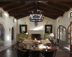 Spanish Colonial Hacienda..