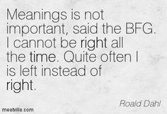 Pics For > Roald Dahl Bfg Quotes