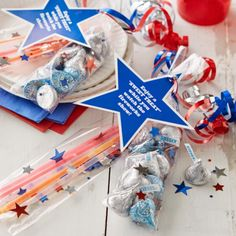 4th of July mini Glow Sticks and party favor! Perfect for the fireworks!