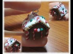 Fimo: tutorial casetta in marzapane/little gingerbread house