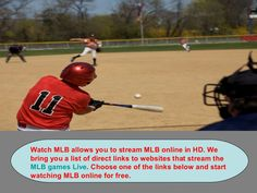 WatchMLB allows you to stream NCAA Football online in HD. We bring you a list of direct links to websites that stream the NCAA Football games Live. Choose one of the links below and start watching NCAA Football online for free. www.slideshare.net/sonyakrivtsun/free-mlb-streams