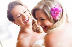 The excitement of a wedding day! Captured by Mike Sidney Photography! www.mikesidney.com