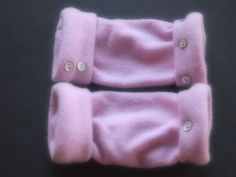 Fingerless Gloves Pink 100% Cashmere Many colors & styles available by ArtisanFeltStudio on Etsy