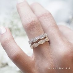 Ladies! Your Henri Daussi bands await you... visit a retailer to start or enhance your fine jewelry collection. #bands #weddingband #twistedband #diamonds #jewelry #gifting #holidaze #jewellery #jewelrydesigner #holidaybonus