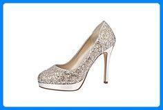 Abendschuhe Seralio for sale Pumps, Wedding Accessories, Black Silver, Elsa, Peep Toe, Glamour, Shoes, Color, Link