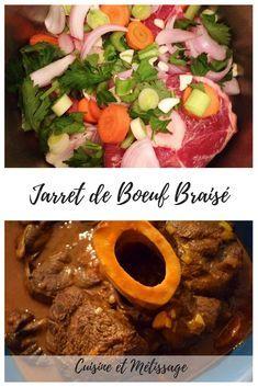 Jarret de Boeuf Braisé #dailyrecipe #confortfood