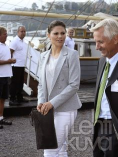 Queens & Princesses - Princess Victoria attended a seminar on the Baltic Sea, which was held in Stockholm.