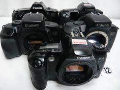 KC323GB キャノン EOS等 フイルム一眼5台 ジャンク_画像1