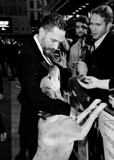 Tom Hardy and Woody at the UK Premiere of Legend   Sept 3, 2015   London