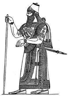 Ancient Assyrians - Assyrian King