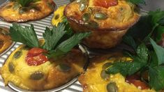 These frittata muffins are great as a snack in-between meals (ditch that bag of crisps!).