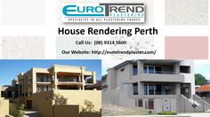 Are you planning for house rendering? Then contact Euro Trend Plastering Company offers you reliable and affordable service of house rendering Perth. We have an experience plastering team who helps you for the best service of rendering Perth.