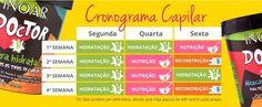 Inoar Doctor Kit Cronograma Capilar c/ 4 Produtos