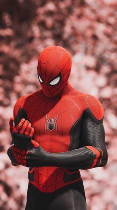 Spiderman Far From Home suit Amazing Spiderman, Spiderman Art, Marvel Comic Universe, Marvel Art, Marvel Heroes, Captain Marvel, Man Wallpaper, Avengers Wallpaper, Superhero Wallpaper Iphone