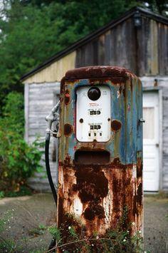 rusty gas pump -  plutoniumRain
