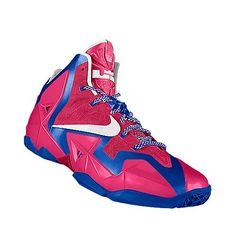 I designed the pink Kentucky Wildcats Nike women's basketball shoe just to support breast cancer.