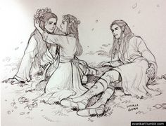 evankart: Elrond's children. | Lord of the Rings/The Hobbit | I have an unhealthy obsession with fictional...